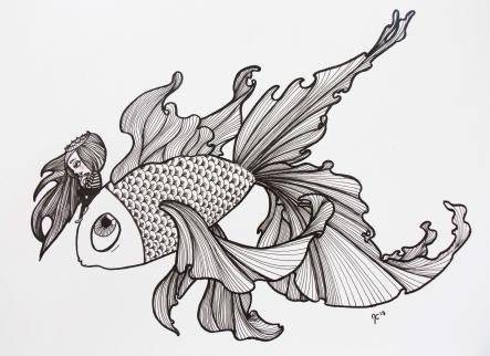 poisson d'avril retouche